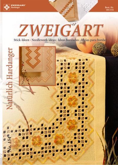 〔Zweigart〕 図案集 Hardanger No.154
