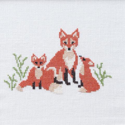 〔Fremme〕 刺繍キット 30-6952