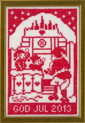 〔fru zippe〕 刺繍キット 70-0241