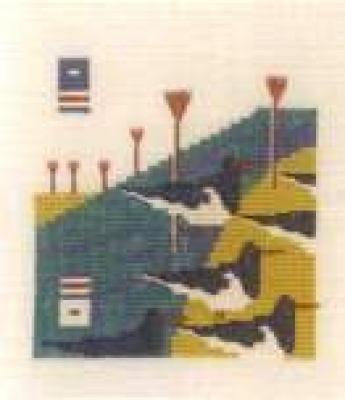 〔Bahmann〕 刺繍キット  B30-9063