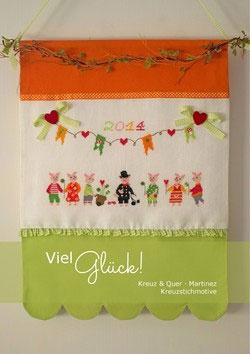 〔Kreuz&Quer〕 図案集 L001-14 Viel Glück!