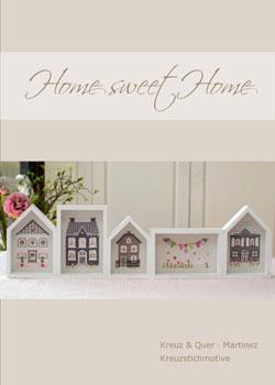 〔Kreuz&Quer〕 図案集 L002-15 Home sweet Home