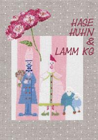 〔MWI-3467〕 図案集 Hase Huhn & Lamm KG