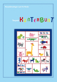 〔MWI-3470〕 図案集 Tierpark Kunterbunt