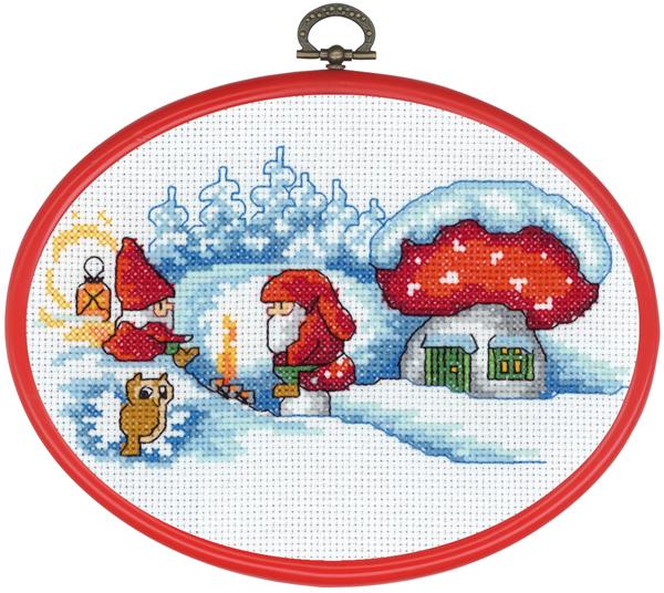 〔Permin〕 刺繍キット P12-6297 <12月のおすすめキット>