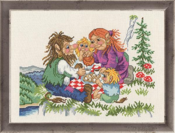 〔Permin〕 刺繍キット P92-1584