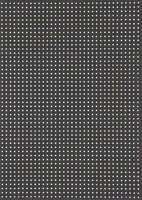 *〔Rico Design〕 08792.78.72 紙刺繍  / 黒 10枚入り
