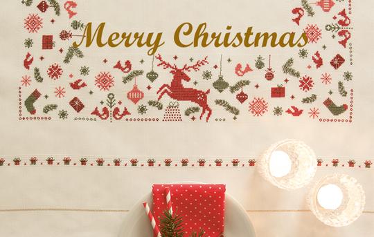 〔Rico Design〕 図案集 No.146 Merry Christmas