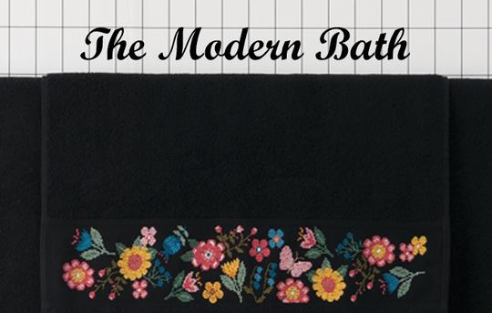 〔Rico Design〕 図案集 No.147 Modern Bathroom Book