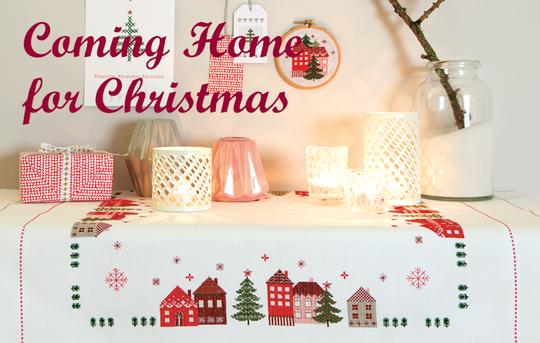 **〔Rico Design〕 図案集 No.151 Coming Home for Christmas