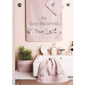 〔Rico Design〕 図案集 No.161 My cosy bathroom