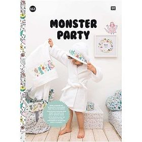 〔Rico Design〕 図案集 No.163 Monster Party