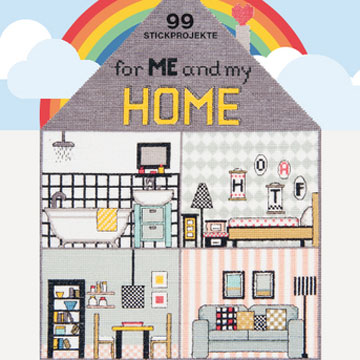 〔Rico Design〕 図案集 99 Stickprojekte for Me and my HOME