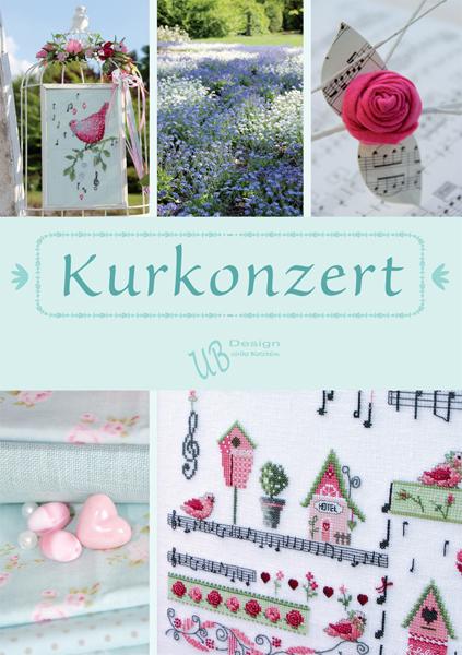 〔UB Design〕 図案集 B2014-1 Kurkonzert