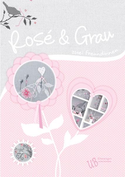 〔UB Design〕 図案集 B2016-1 Rosé und Grau <Happy Point 5倍>