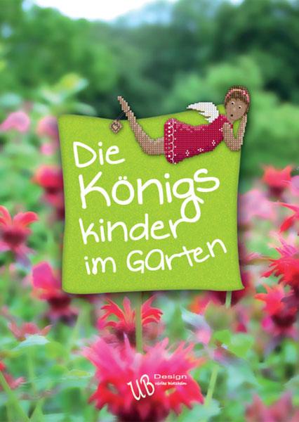〔UB Design〕 図案集 L2016-2 Die Konigskinder im Garten