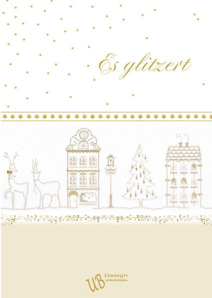 〔UB Design〕 図案集 L2016-3 Es glitzert
