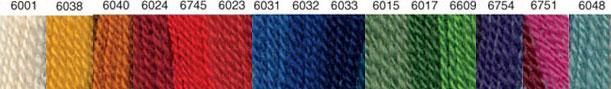 〔Wool〕 ウール糸 / 太 / 15色セット