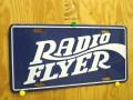 RadioFlyer Lic Plate Blu��RFLP3203B��