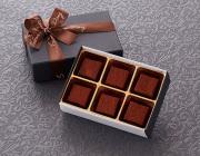 【バレンタイン2017】 生チョコレートアールグレイ 6個入り[デリカショップ 配送商品]