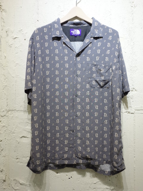 THE NORTH FACE PURPLE LABEL Paisley H/S Shirt