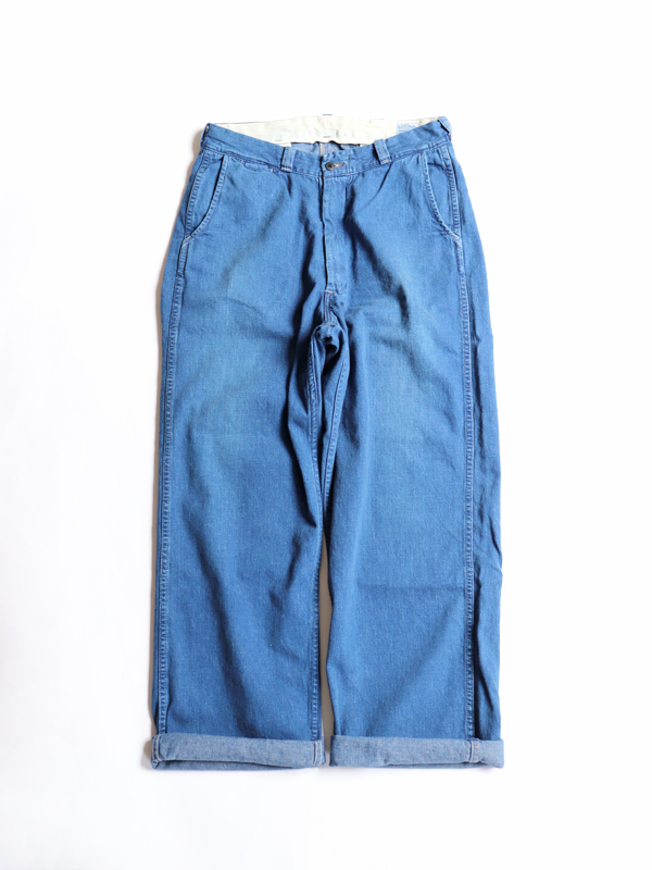 orSlow WORK TROUSERS -Used