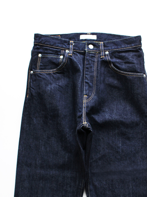 HATSKI ハツキ Regular Tapered Denim -One Wash