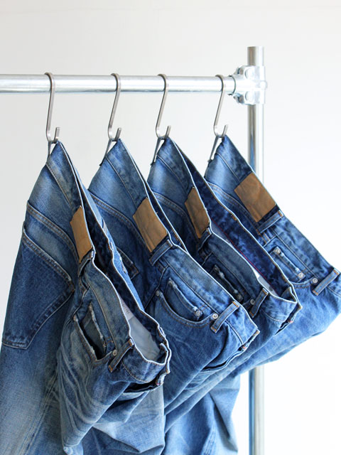 【再入荷】Ordinary fits ANKLE DENIM PANTS - 3 YEAR WASH
