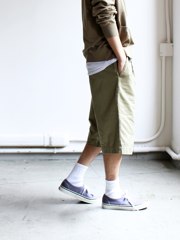 "LIFE TOURS Special Edition""HATSKI×EEL Products"" BIG SHORT -Khaki"