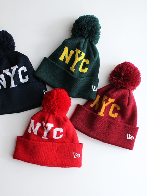 New Era POM PON KNIT NYC