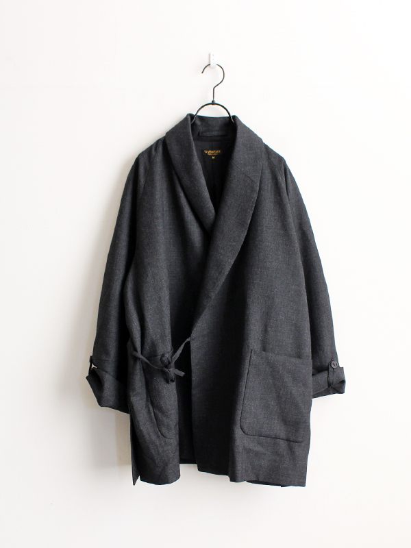 A Vontade Wool Robe Coat