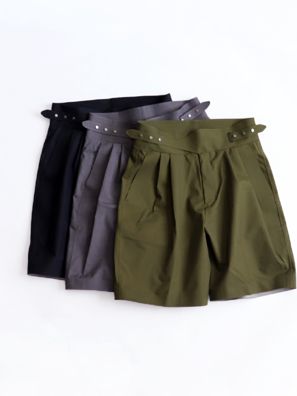 DESCENTE PAUSE WOOL MIX 2.5L GURKHA SHORTS