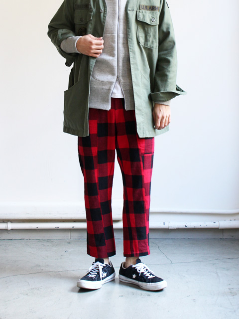 SUNDAY WORKS Engineer Pants -Buffalo Check
