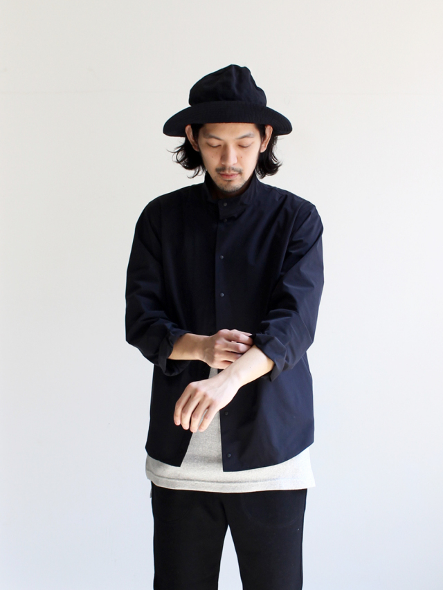 YAECA Stand Collar Shirt