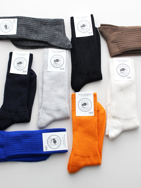 LOCAL ROOTS Merino Rib Socks