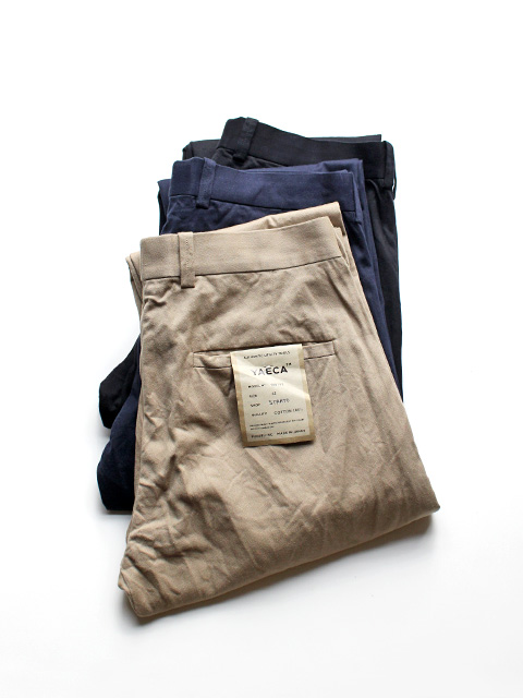 YAECA ヤエカ CHINO CLOTH PANTS -STANDARED