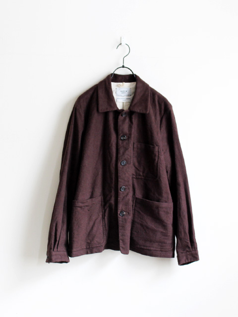 YAECA WRITE Washed Coverall Jacket