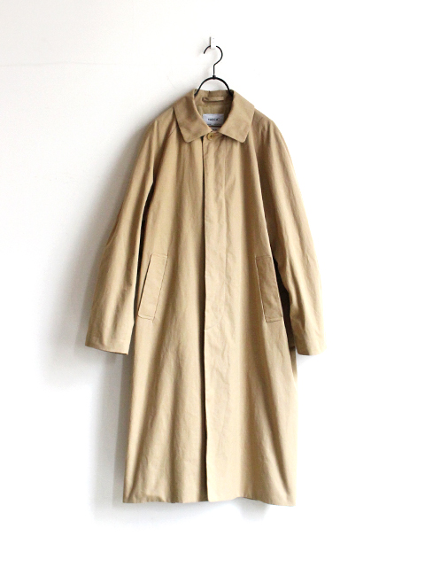 YAECA SOUTIEN COLLAR COAT -LONG