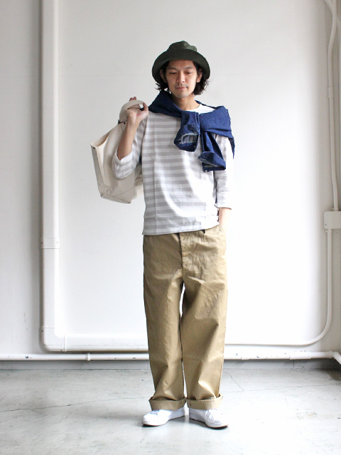 maillot Border 3/4 Sleeve-T-Shirt (ボーダー七分袖) MAC-002
