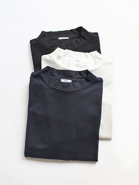 maillot Mock Neck Big Long Tee (モックネック) MAC-16139
