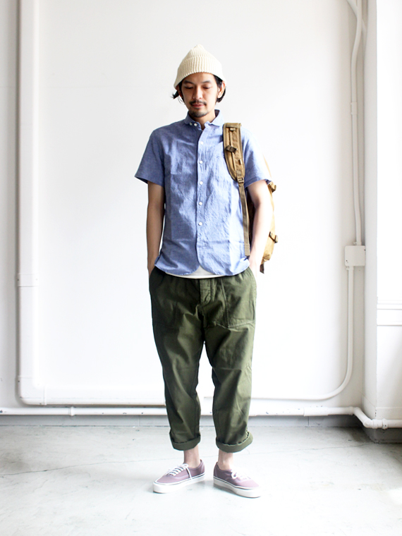 maillot Sunset Work S/S Shirts (無地ワーク・半袖) MAS-057