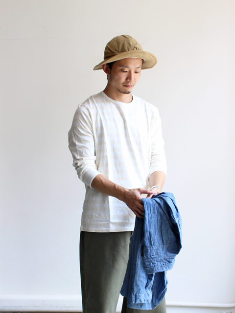 maillot border long sleeve T-shirt (ボーダーロングTシャツ) MAC-001