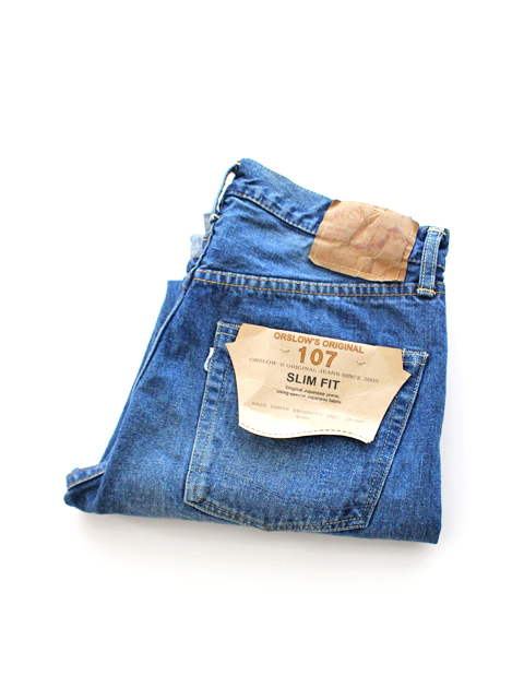 orSlow IVY FIT DENIM 107 -2YEAR WASH
