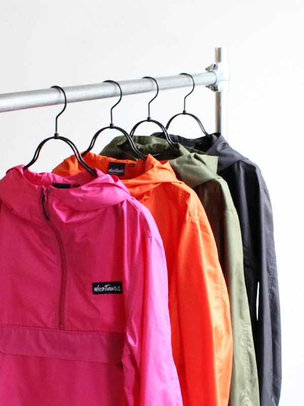 WILD THINGS PACKABLE ANORAK