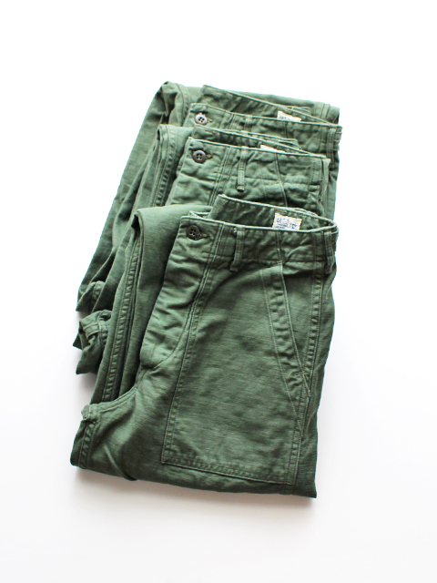 orSlow オアスロウ US Army Fatigue Pants