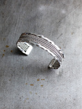 "Vintage Mexican Jewelry - Bangle ""B"""