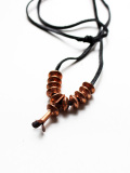 hobo Desert Flower Copper Pendant Necklace by STANLEY PARKER