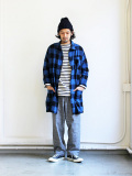 SUNDAY WORKS Engineer Coat -Buffalo Check