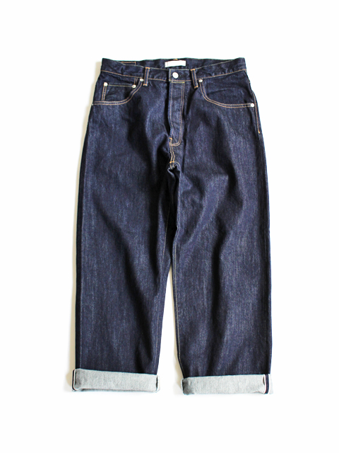 HATSKI(ハツキ) Wide Tapered Denim -One Wash