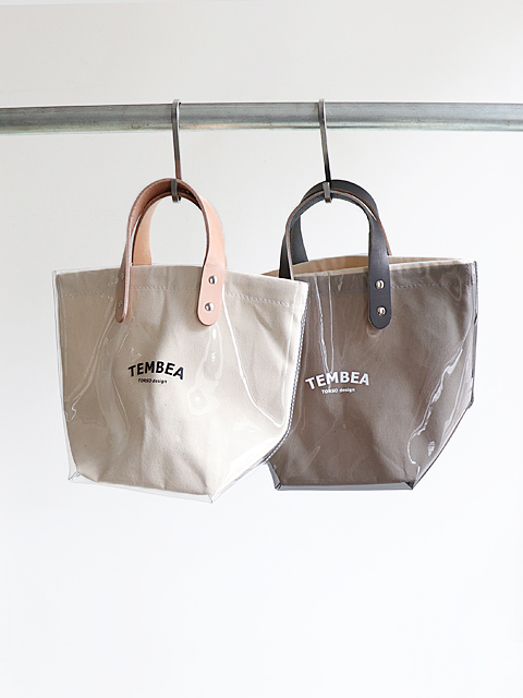 TEMBEA(テンベア) DELIVERY TOTE LOGO SMALL -PVC